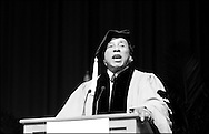 """Never ever give up on your dreams, because your dreams are you."" "".Never, ever get full of yourself. Never, ever think that you're it."".Smoky Robinson while addressing  the  graduates at  the Berklee's Commencement 2009. Robison receives an honorary degree for his achievements and influence in music. He says.."