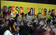 Guests and local residents take photos of US President Barack Obama after he speaks at the City of Decatur Recreation Center in Decatur, Georgia, USA, 14 February 2013. Obama was promoting the proposals mentioned in his State of Union speech, including preschool education.