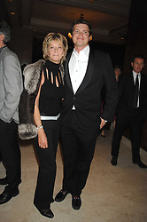 WENDY KIDD and her son JACK KIDD at a dinner to promote the Holders Season in Barbados held at The Four Seasons Hotel, Hamilton Place, London W1 on 30th January 2008.<br /><br />NON EXCLUSIVE - WORLD RIGHTS (EMBARGOED FOR PUBLICATION IN UK MAGAZINES UNTIL 1 MONTH AFTER CREATE DATE AND TIME) www.donfeatures.com  +44 (0) 7092 235465