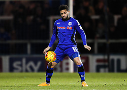 Rochdale's Bastien Hery- Photo mandatory by-line: Matt McNulty/JMP - Mobile: 07966 386802 - 24/02/2015 - SPORT - Football - Rochdale - Spotland Stadium - Rochdale v Sheffield United - Sky Bet League One