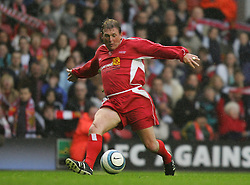 LIVERPOOL, ENGLAND - SUNDAY MARCH 27th 2005: Liverpool Legends' Kenny Dalglish during the Tsunami Soccer Aid match at Anfield. (Pic by David Rawcliffe/Propaganda)