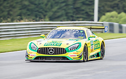10.06.2017, Red Bull Ring, Spielberg, AUT, ADAC GT Masters, Spielberg, 1. Rennen, im Bild Indy Dontje (NED)/Marvin Kirchhoefer (GER) Mercedes AMG Team HTP Motorsport // Dutch ADAC GT Masters driver Indy Dontje/German ADAC GT Masters driver Marvin Kirchhoefer of Mercedes AMG Team HTP Motorsport during the 1st race of the ADAC GT Masters at the Red Bull Ring in Spielberg, Austria on 2017/06/10. EXPA Pictures © 2017, PhotoCredit: EXPA/ Dominik Angerer