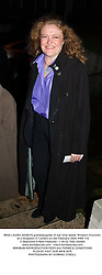 MISS LAURA SANDYS granddaughter of war time leader Winston Churchill, at a reception in London on 5th February 2004.PRK 119
