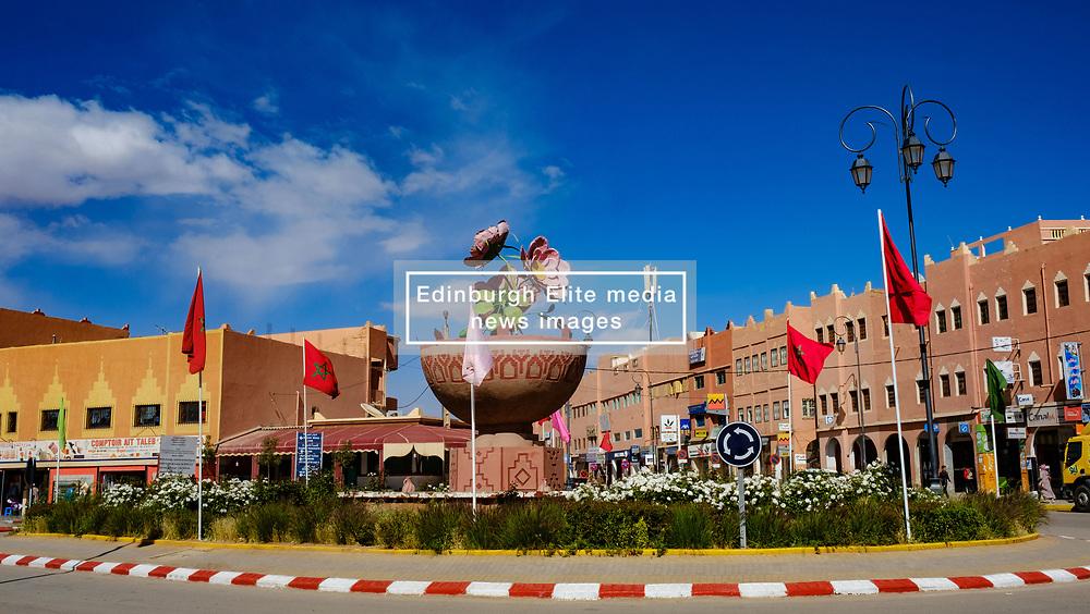 Street scene in El Kelaa Des M'Gouna, the rose capital of Morocco<br /> <br /> (c) Andrew Wilson | Edinburgh Elite media