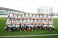 Picture by Andrew Tobin/SLIK images +44 7710 761829. 3rd November 2012. .The European Islands team before the European Islands v European Continent Australian Rules football match at Kia Oval in London, UK