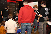 An image from Lincoln Ward's photographic journal of the FIRST Robotics FRC Wisconsin Mini-Regional 2010, held at Hamilton High School in Sussex, Wisconsin.