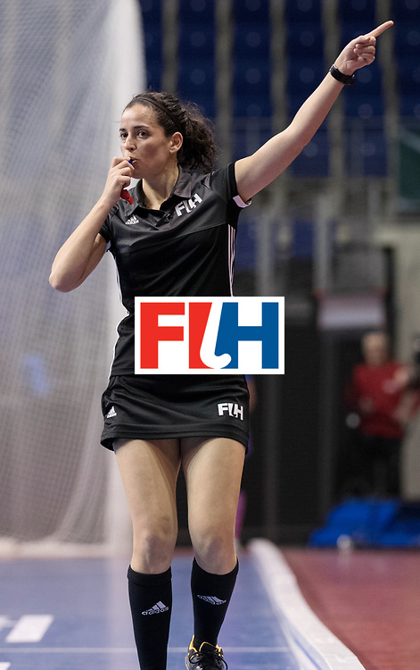 BERLIN - Indoor Hockey World Cup<br /> Women: Poland - Netherlands<br /> foto: Ana Faias.<br /> WORLDSPORTPICS COPYRIGHT FRANK UIJLENBROEK