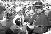 21/06/1961.06/21/1961.21 June 1961.Patrician Year celebrations: Cardinal Legate Grégoire-Pierre Agagianian at garden party in Blackrock, Co. Dublin.