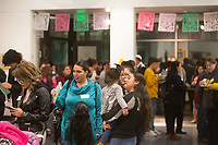 Scenes from the December 5th, 2017 opening of the Stories from Salinas exhibition at the CSUMB Salinas Center for Arts and Culture in Oldtown. The exhibition celebrates the mentors, youth and families of the Salinas Youth Initiative.