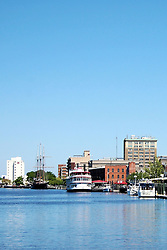 Cape Fear River Scene, Wilmington, North Carolina
