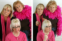 Jenny &Eacute;clair, Dillie Keane and Linda Robson  from the original cast of the BBC television series Grumpy Old Women.<br /> Client Breast Cancer Campaign