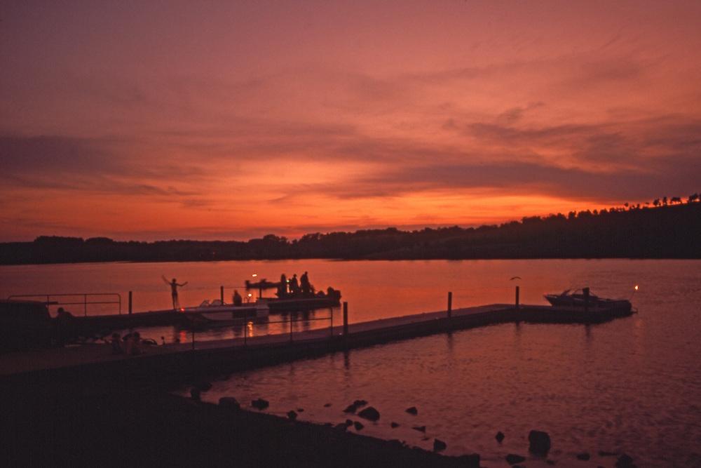 PA Landscapes, Blue Marsh Lake, Sunset, Berks Co., PA