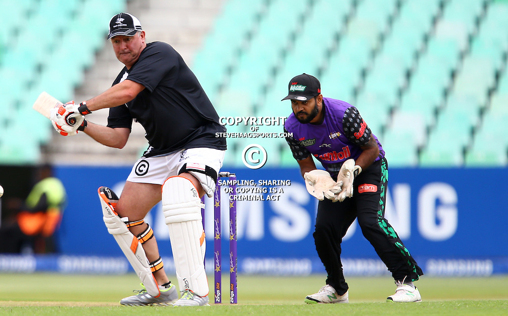 DURBAN, SOUTH AFRICA - DECEMBER 15: Gary Gold (Sharks Director of Rugby)  during the Hollywood bets Showdown at the Coast match between Sunfoil Dolphins and Cell C Sharks at Sahara Stadium Kingsmead on December 15, 2015 in Durban, South Africa. (Photo by Steve Haag/Gallo Images)