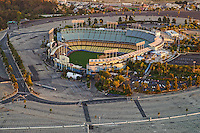 Dodger Stadium, Home of the L.A. Dodgers Baseball Team