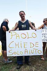 20130726 PROTESTA PER PAOLO OSPEDALE DI SAN GIORGIO