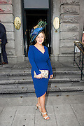 31/07/2014 There was an excellent turnout of fashionable ladies at Hotel Meyrick for their Most Stylish Lady Competition, judged by two of Ireland's leading fashion commentators Sonya Lennon  and Brendan Courtney .  At the event was  Sally ann Flanagan, Tuam, Picture:Andrew Downes