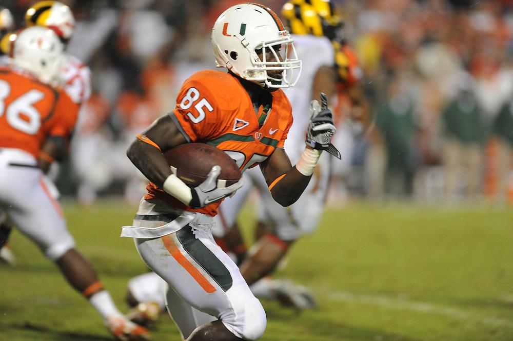 2011 Miami Hurricanes Football @ Maryland<br /> <br /> Phillip Dorsett