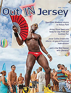 Out in Jersey, cover of Jun-eJuly 2013 issue.
