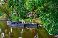 France, Loire-Atlantique (44), Parc Naturel Régional de Brière, Saint Joachim  // France, Loire-Atlantique, regional parc of Brière, Saint Joachim