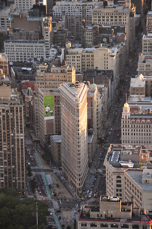 The Flatiron Building from Empire State Building