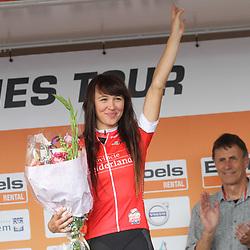 03-09-2017: Wielrennen: Boels Ladies Tour: Sittard: Kasia Niewiadoma wint de strijdlust