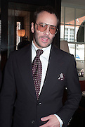 TOM FORD, Vanity Fair Lunch hosted by Graydon Carter. 34 Grosvenor Sq. London. 14 May 2013