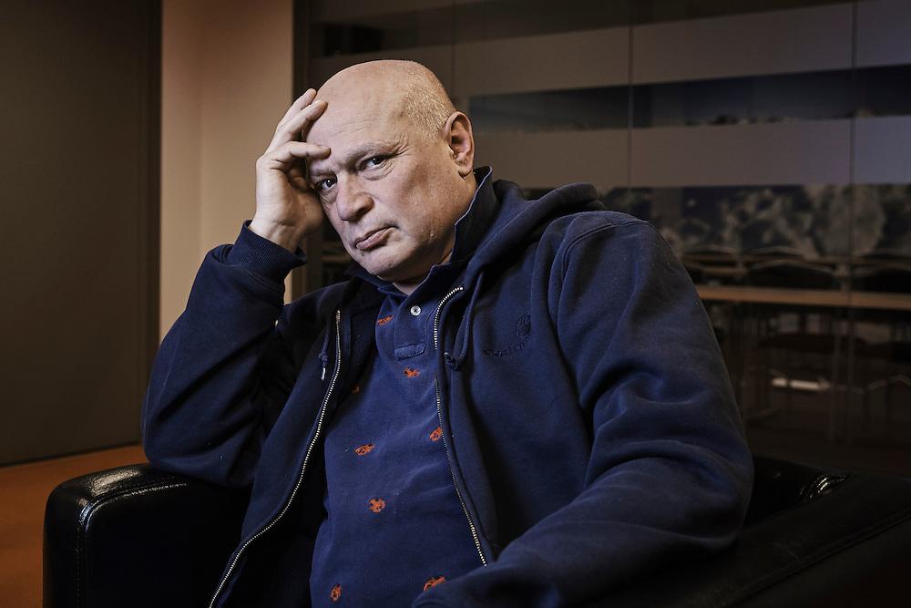 Stockholm, 20150217<br /> Robert Aschberg, styremedlem i magasinet Expo.<br /> Foto: Paul Paiewonsky / Dagbladet MAGASINET