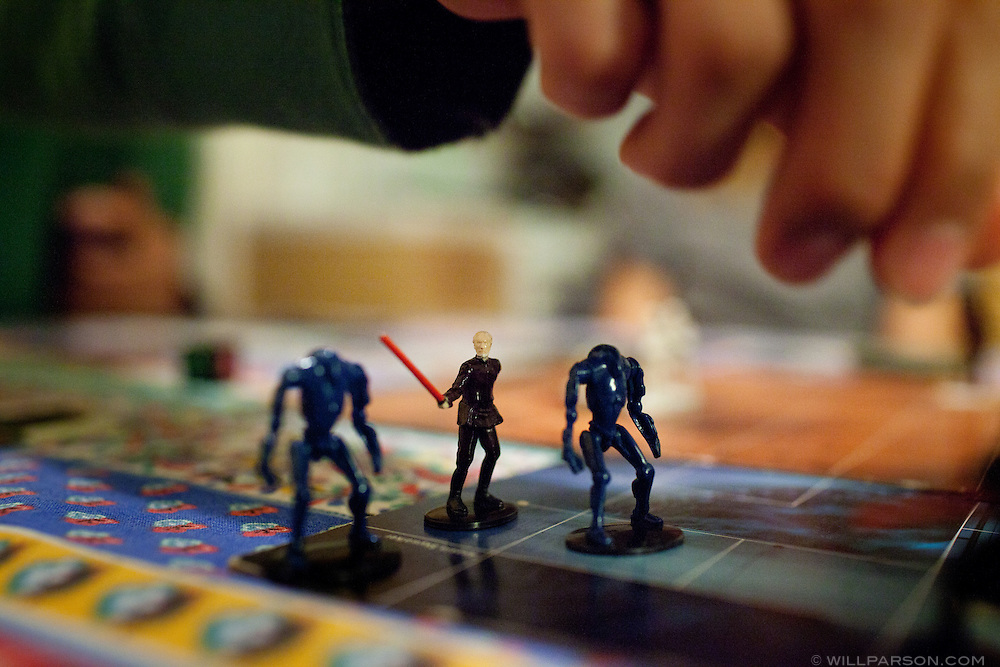 Star Wars Epic Duels is a discontinued board game featuring characters from the movie series.