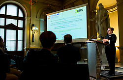 Mateja Kramberger at Interreg Slovenia - Austria ABS-Network event organised by TikoPro, on October 2, 2018, in TU Graz, Graz, Austria. Photo by Vid Ponikvar / Sportida