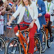 NLD/Den Haag/20160824 - Huldiging sport Rio 2016, Daphne Schippers