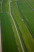 Nederland, Noord-Holland, Gemeente Schagen, 28-04-2010; Nieuwe Dijk ten westen van Schagen, onderdeel van de Westfriese Omringdijk, de vroegere zeewering. ..New Dike, part of the 'Westfrisian Surrounding Dike'..luchtfoto (toeslag), aerial photo (additional fee required).foto/photo Siebe Swart