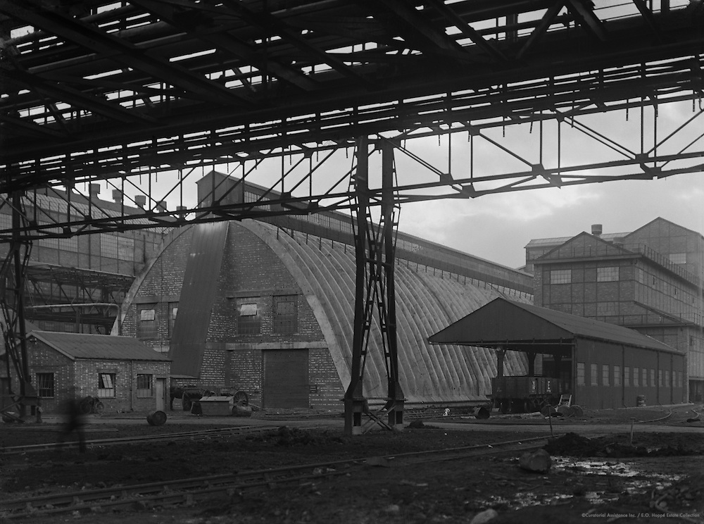 Sulphate of Ammonia Storage Shed, Synthetic Ammonia & Nitrate Company, England, 1928