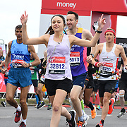 Elite Start runners at Virgin Money London Marathon