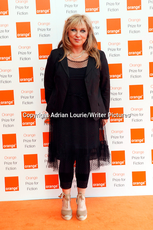 Helene Lederer arrives at the 2012 Orange Prize for Fiction ceremony at the Royal Festival Hall in London. 30th May 2012. <br /> <br /> Picture by Adrian Lourie/Writer Pictures