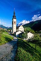 St. Peter (San Pietro), Dolomites, Sudtirol region, Italy