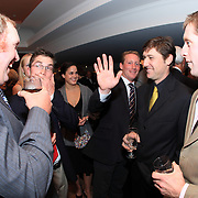 Jay Hambly, Waylon Roberts, Oliver Townend, Mark Nelson and Richard Taylor at the 2009 Canadian Eventing Hall of Fame Gala in Toronto, Ontario.
