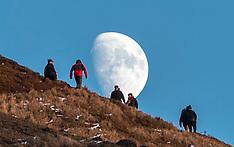 Winter's Moon | Edinburgh | 28 December 2017