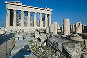 Acropolis. The Parthenon.
