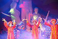 Performance in celebration of Hanoi's 1000 year anniversary, Hanoi, Vietnam, Southeast Asia