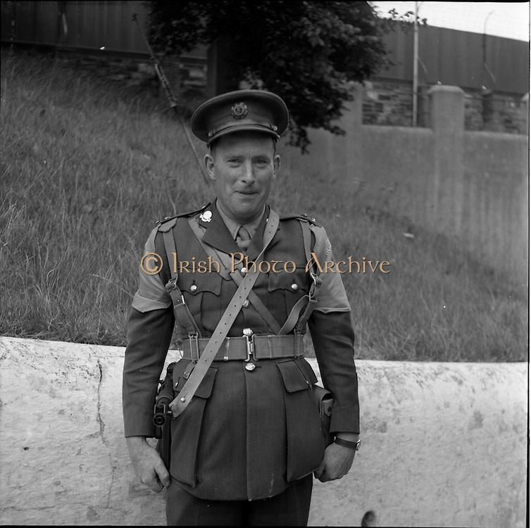 20/06/1961<br /> 06/20/1961<br /> 20 June 1961<br /> The 35th Battalion prepare to leave for the Congo.