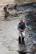 Fly fishing on the River Rur in Monschau ..., Travel, lifestyle