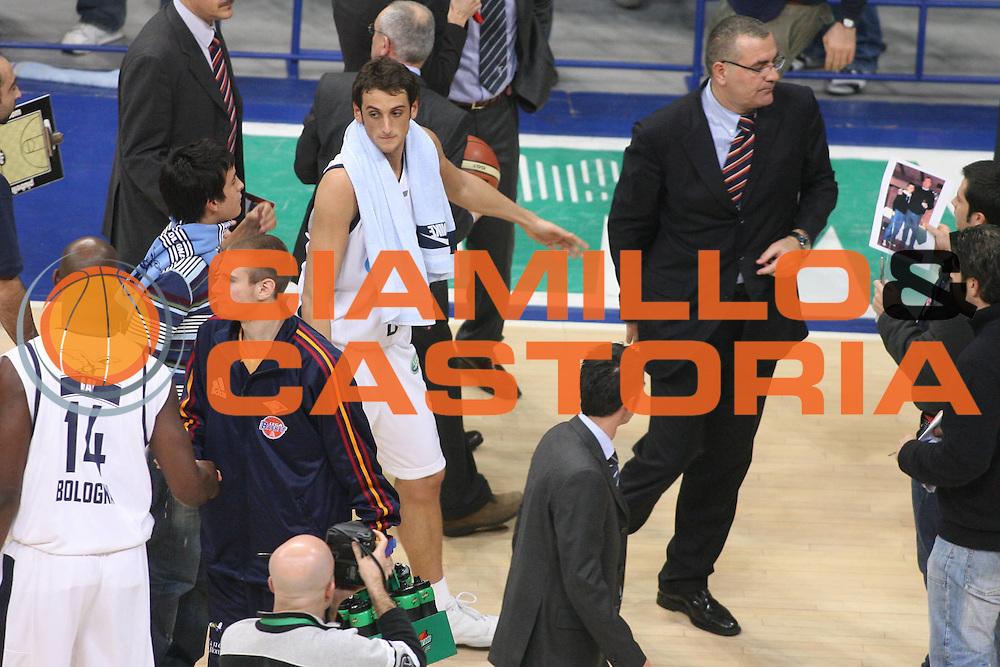 DESCRIZIONE : Bologna Lega A1 2006-07 Climamio Fortitudo Bologna Lottomatica Virtus Roma <br /> GIOCATORE : Repesa Belinelli<br /> SQUADRA : Lottomatica Virtus Roma <br /> EVENTO : Campionato Lega A1 2006-2007 <br /> GARA : Climamio Fortitudo Bologna Lottomatica Virtus Roma <br /> DATA : 09/12/2006 <br /> CATEGORIA : Ritratto <br /> SPORT : Pallacanestro <br /> AUTORE : Agenzia Ciamillo-Castoria/G.Ciamillo