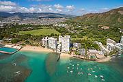 Gold Coast<br /> , Waikiki, Honolulu, Oahu, Hawaii