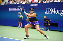 Bianca Vanessa Andreescu plays her women's final at the 2019 US Open at Billie Jean National Tennis Center in New York City, NY USA, on September, 7, 2019. Andreescu defeats Williams 6-3, 7-5 to win her first US Open and Grand Slam title. Photo by Corinne Dubreuil/ABACAPRESS.COM