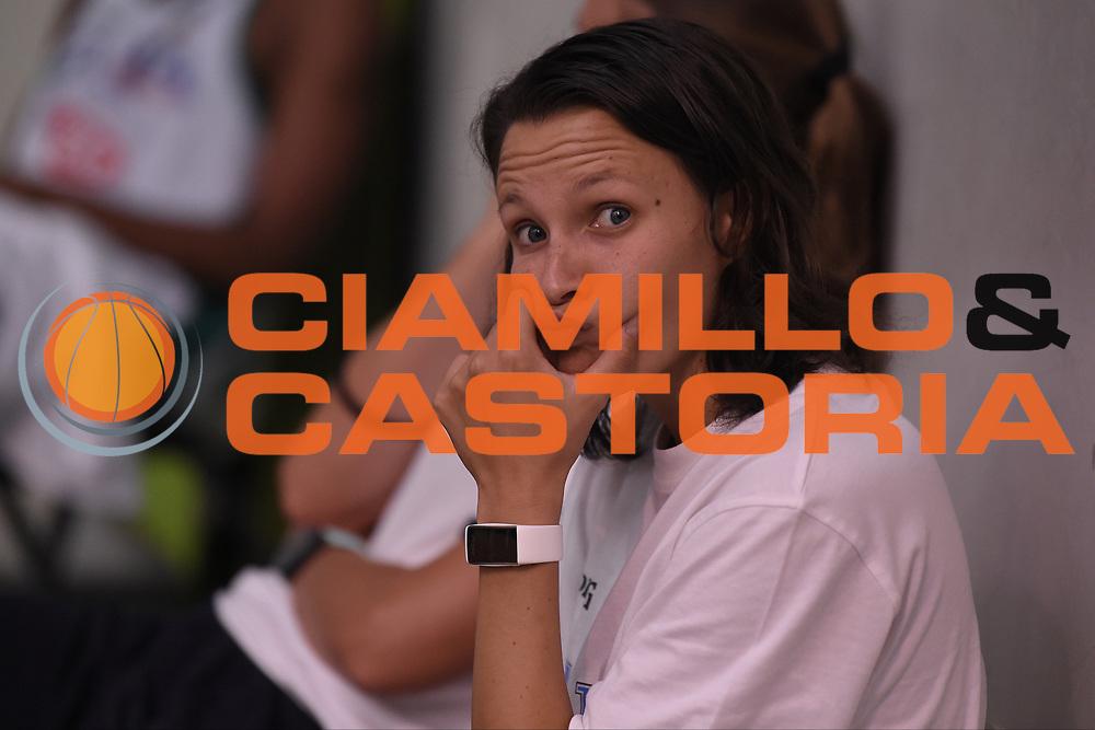 Giorgia Sottana<br /> Nazionale Italiana Femminile Senior - Allenamento<br /> FIP 2018<br /> Treviso, 13/08//2018<br /> Foto GiulioCiamillo / Ciamillo-Castoria