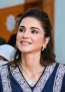 Queen Rania Visits Mafraq