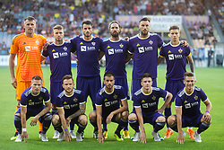 Players of NK Maribor during 2nd Leg football match between NK Maribor and FK Partizani Tirana in 1st Qualifying Round of UEFA Europa League 2018/18, on July 19, 2018 in Ljudski vrt, Maribor, Slovenia. Photo by Urban Urbanc / Sportida