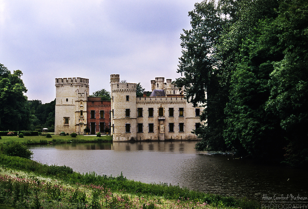 Bouchout Castle sits in the centre of the National Botanic Garden of Belgium near Brussels.
