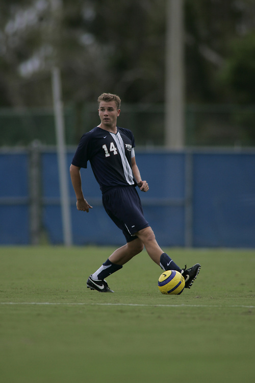 2006 FAU Men's Soccer vs Mercer, September 8, 2006.