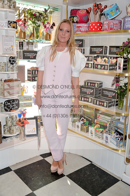 ALICE NAYLOR-LEYLAND at a party to launch Biscuiteers Fashion Biscuit Collection inspired by Alice Naylor-Leyland's wardrobe held at Biscuiteers, 194 Kensington Park Road, London W11 on 23rd June 2015.